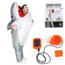 Großhandel Verkleidung & Kostüme: Aufblasbarer Kostümhai für Erwachsene