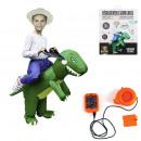 Großhandel Verkleidung & Kostüme: aufblasbares Dinosaurierkostüm für Kinder