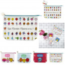 trousse de toilette mr mme 30x20cm, 4-fois assorti