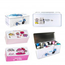 boite a pharmacy metal mr ms, 3-times assorted