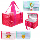 wholesale Cooler Bags: lunch bag freshness mr mme, 2- times assorted
