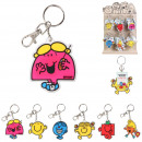 Keyring pvc mr same, 6- times assorted