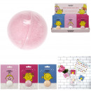 bath ball mr mrs 50g, 3- times assorted