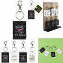 keyring jacques said, 4- times assorted