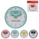 wholesale Clocks & Alarm Clocks: 30cm clock, 4- times assorted