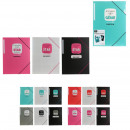 sleeve with elastic x3, 4- times assorted