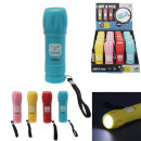 wholesale Flashlights: cob torch, 4- times assorted