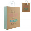 Great gift bag 42x35x10cm, 1-fold assorted