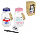 wholesale Saving Boxes: Bocal wished mom dad, 2-time assorted