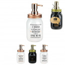 wholesale Bath Furniture & Accessories: Ethnic soap dispenser, 3- times assorted
