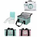 lunch box cool bag and ice bread, 2 times a
