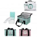lunch box sac fraicheur et pain de glace, 2-fois a