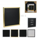 wholesale Gifts & Stationery: letter board 25x25cm plastic 166 letters, 4-fold