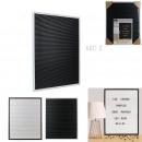 letter board 40x50cm plastique 166 lettres, 2-fois