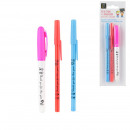 Set of 2 pens + 1 highlighter Thank you, 1-times a