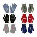 wholesale Gloves: women winter message gloves, 6- times assorted