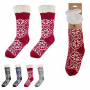 wholesale Stockings & Socks: winter woman sock, 4- times assorted