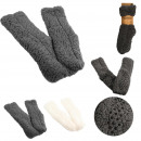 wholesale Stockings & Socks: sherpa socks, 2- times assorted