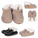 wholesale Fashion & Apparel: slippers sherpa woman, 2- times assorted