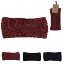 Großhandel Kopfbedeckung: Winter Nola Stirnband, 3- fach sortiert