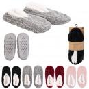 wholesale Fashion & Apparel: booties ballerina chenille interior sherpa, 4-f
