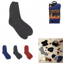 mega thermo mixed winter child socks, 3-fold