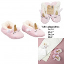 kids unicorn ballerina slippers