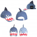wholesale Fashion & Apparel: shark cap, 2- times assorted