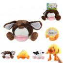 hurtownia Zabawki pluszowe & lalki: nadziewane zwierząt, 3 razy mieszany