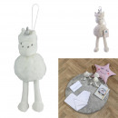 wholesale Dolls &Plush: plush tassel unicorn 25cm, 1- times assorted