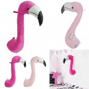 flamingo head, 2- times assorted