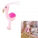 wholesale Dolls &Plush: plush flamingo 15cm, 1- times assorted