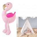 wholesale Toys: plush flamingo 65cm, 1- times assorted