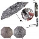 parapluie pliable avec pochette pvc, 2-fois assort