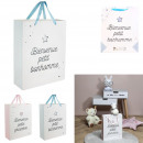 birth gift bag 27x8x32cm, 2- times assorted
