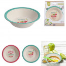 bamboo bowl, 2- times assorted