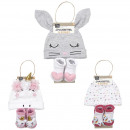 grossiste Autre: ensemble bebe 2 pieces fille, 2-fois assorti