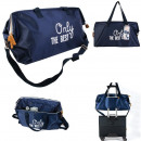wholesale Miscellaneous Bags: family weekend bag 33x25x55cm blue