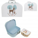 wholesale Bags & Travel accessories:illustrated cart x2 blue