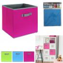 cube de rangement colore enfant 30x30cm, 3-fois as