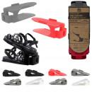 shoe rack 1 pair adjustable x2, 4-fold asso