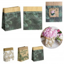 wholesale Gift Wrapping: natural life paper bag 26x21x10cm, 3- times assort