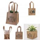 sac a plantation jute plastifie 14cm garden