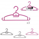 wholesale Laundry: space saving hanger x3, 3- times assorted