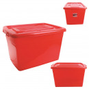120l m5 red plastic storage box
