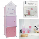 modular wardrobe storage 3 cubes girl