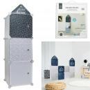 modular cabinet storage 3 cubes boy
