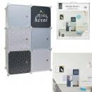 rangement armoire modulable 6 cubes garcon
