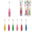 wholesale Dental Care: toothbrush child led, six-times assorted