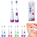 Electric toothbrush with x1 head, 4-times ass